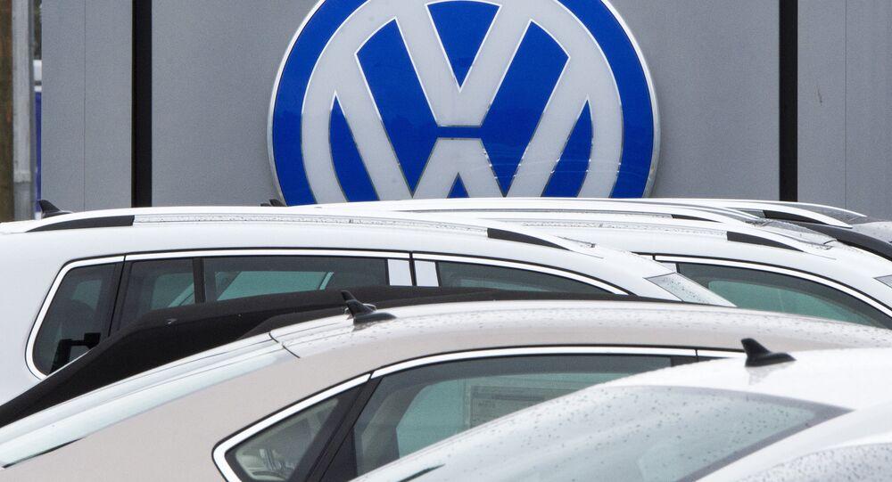 Los autos Volkswagen (archivo)