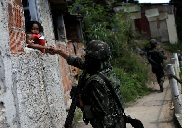 Intervención militar en la ciudad de Río de Janeiro