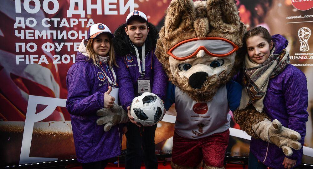 Los voluntarios de Moscú para el Mundial 2018
