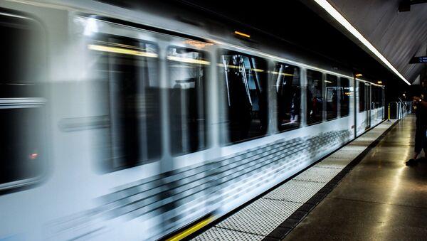 Tren de metro (imagen referencial) - Sputnik Mundo