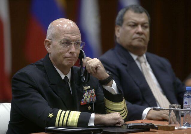 Kurt Tidd, almirante de EEUU (archivo)