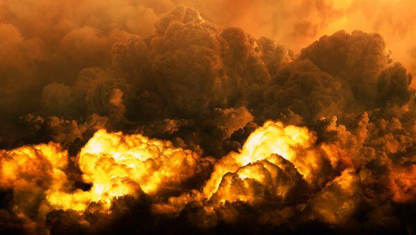 llamas de fuego (imagen referencial) - Sputnik Mundo