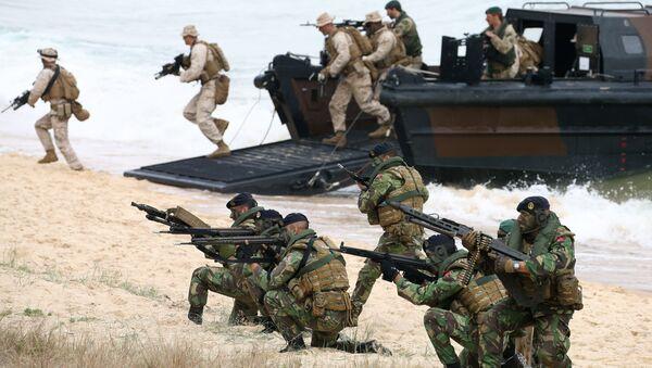 Maniobras militares Trident Juncture, Portugal, 5 de noviembre de 2015 - Sputnik Mundo
