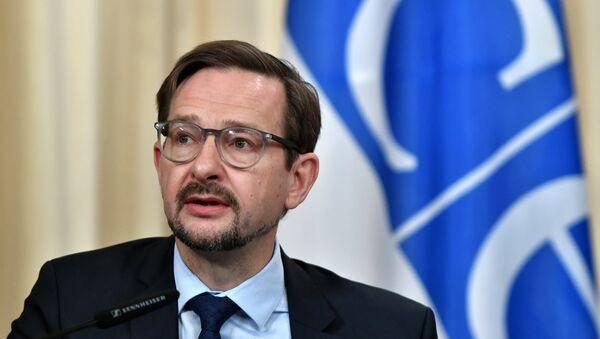 Thomas Greminger, el secretario general de la OSCE - Sputnik Mundo