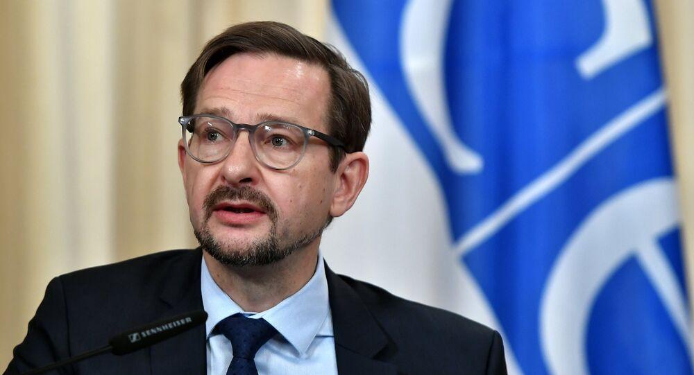Thomas Greminger, el secretario general de la OSCE