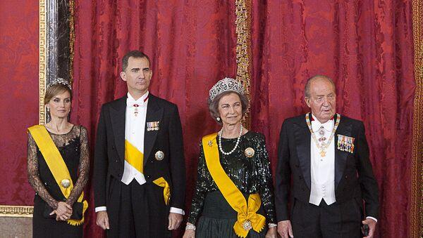 La familia real de España - Sputnik Mundo