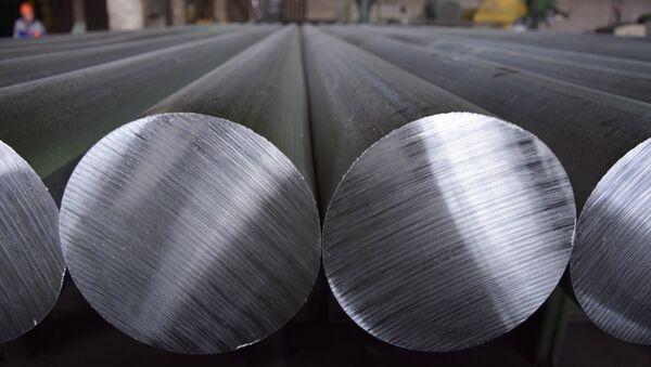 Aluminio (imagen referencial) - Sputnik Mundo