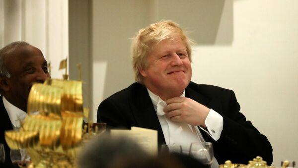 El Secretario de Asuntos Exteriores del Reino Unido, Boris Johnson - Sputnik Mundo