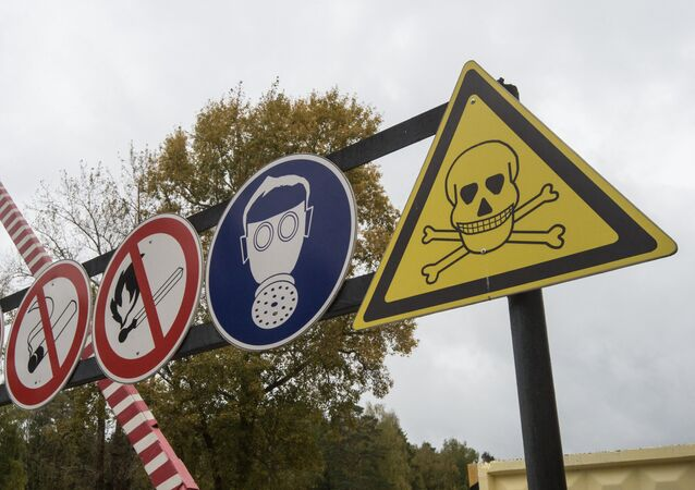 Advertencias sobre amenaza química (archivo)