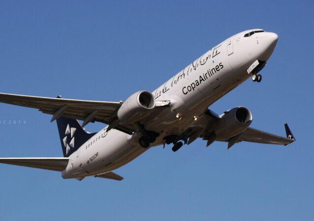 Un avión de Copa Airlines