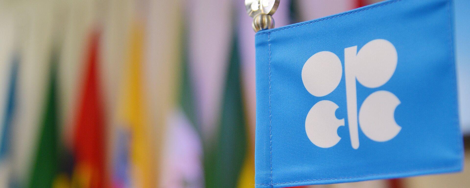 Logo de OPEP - Sputnik Mundo, 1920, 06.07.2021