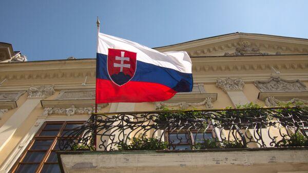 Bandera de Eslovaquia  - Sputnik Mundo