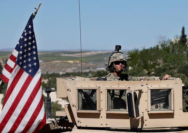 Militares de EEUU en Siria (archivo)