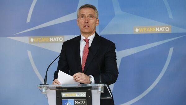 El Secretario General de la OTAN Jens Stoltenberg - Sputnik Mundo