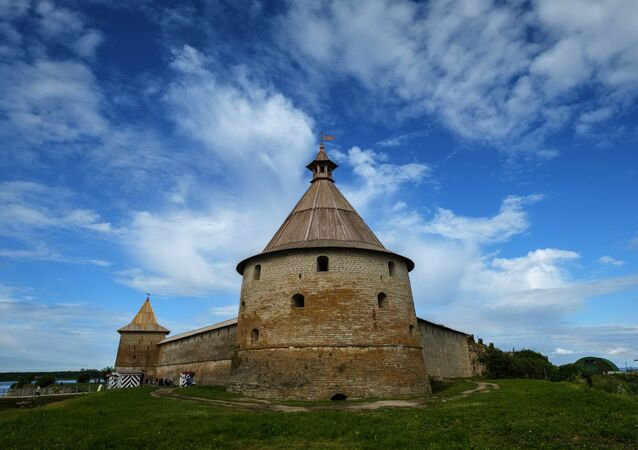 la Fortaleza de Oreshek en la región de Leningrado