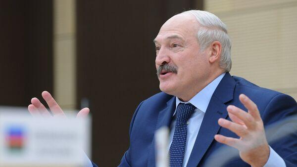Alexandr Lukashenko, presidente de Bielorrusia - Sputnik Mundo