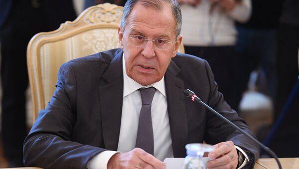 Serguéi Lavrov, el ministro ruso de Asuntos Exteriores - Sputnik Mundo