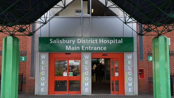 Hospital en Salisbury donde se encuentra Serguéi Skripal - Sputnik Mundo