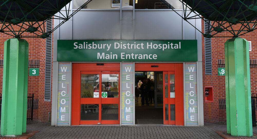 Hospital en Salisbury donde se encuentra Serguéi Skripal