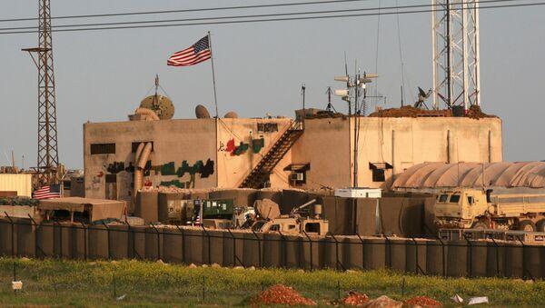 Base militar estadounidense cerca de Manbij - Sputnik Mundo