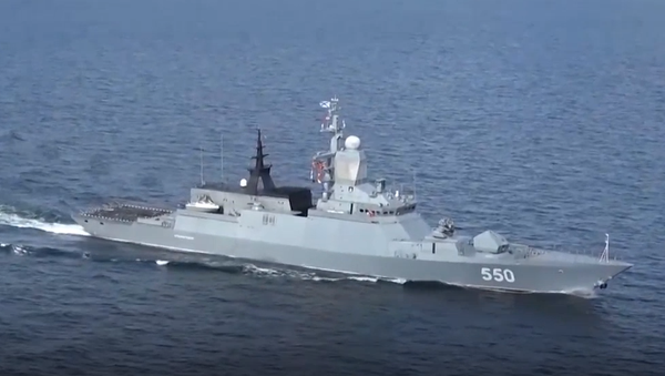 Tres potentes corbetas de Rusia ponen a prueba sus armas en el Báltico - Sputnik Mundo