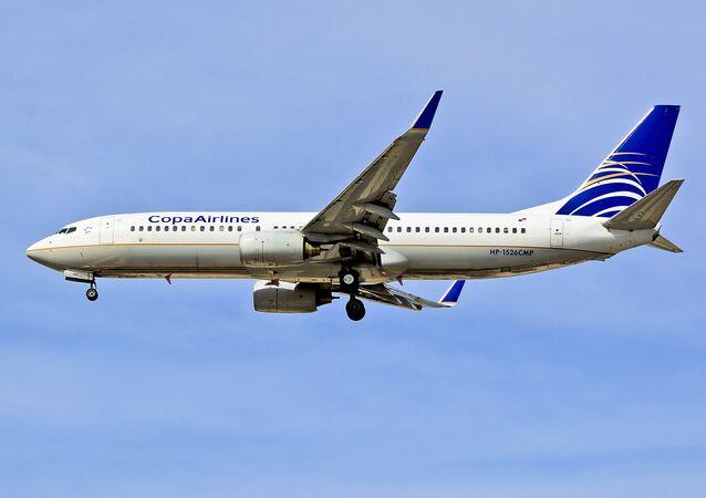 Un avión de Copa Airlines (imagen referencial)
