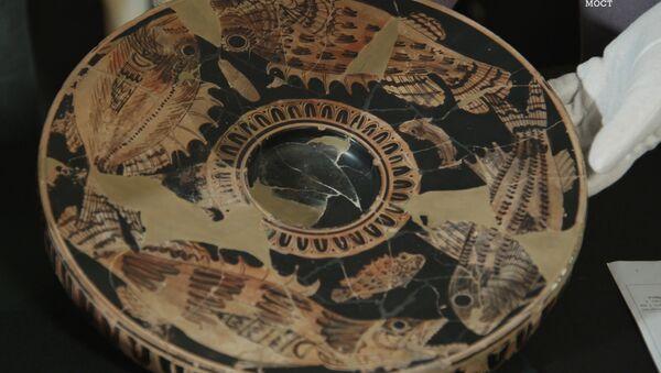 La cerámica encontrada en Yuz Oba - Sputnik Mundo