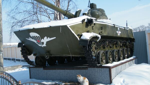 Sistema artillero autopropulsado 2S9 Nona-S - Sputnik Mundo