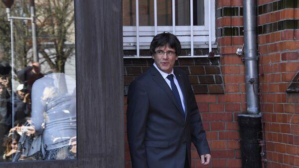 Carles Puigdemont, ex presidente de Cataluña - Sputnik Mundo