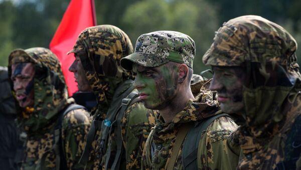Militares bielorrusos (archivo) - Sputnik Mundo