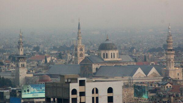 Mezquita de los Omeyas, Damasco, Siria - Sputnik Mundo
