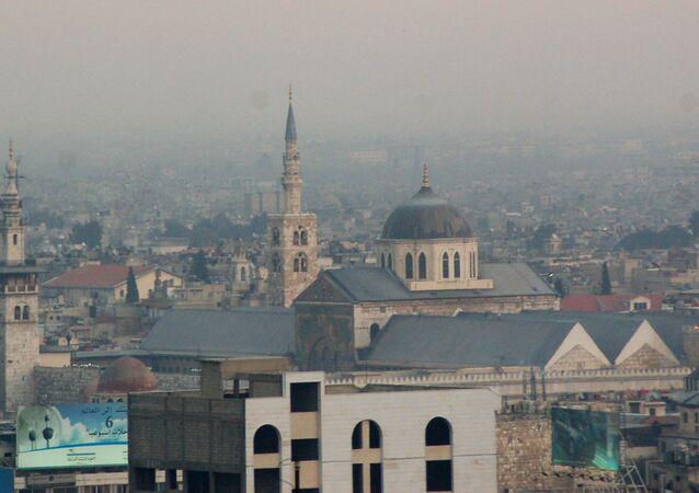 Mezquita de los Omeyas, Damasco, Siria