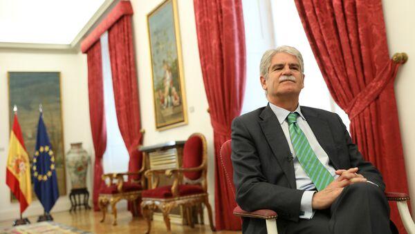 Alfonso Dastis, el ministro de Asuntos Exteriores de España (archivo) - Sputnik Mundo