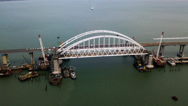 Puente de Crimea (archivo) - Sputnik Mundo