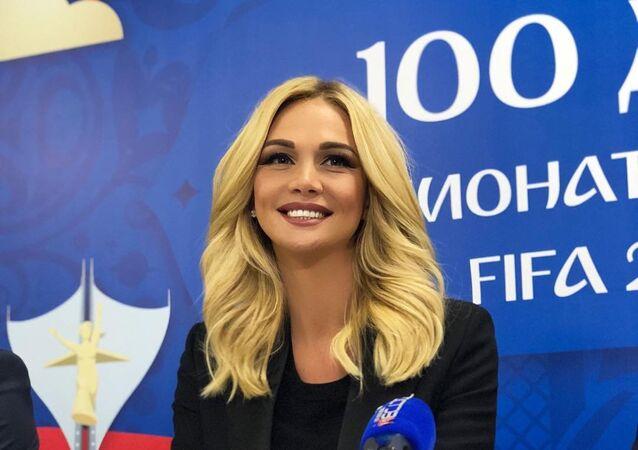 Viktoria Lopiriova, embajadora de la Copa Mundial de la FIFA Rusia 2018