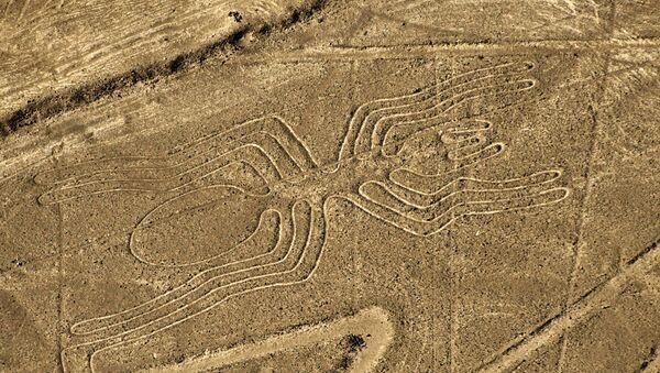 Vista aérea de uno de los geoglifos de Nazca - Sputnik Mundo