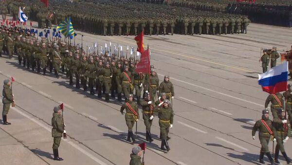 Rusia se prepara para su tradicional desfile del Día de la Victoria - Sputnik Mundo