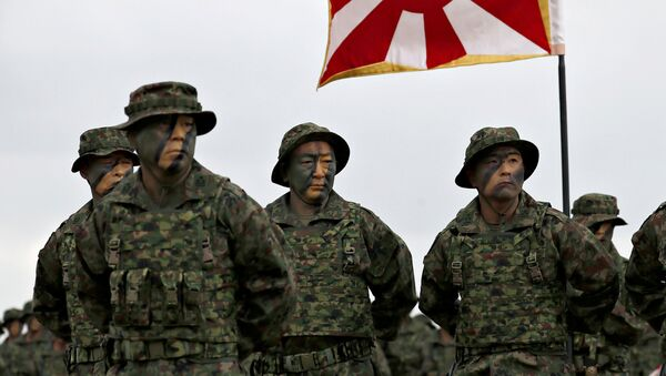 Marines japoneses de la Brigada Anfibia de Despliegue Rápido - Sputnik Mundo