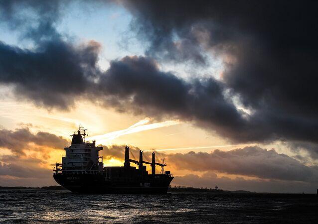 Un buque de carga (imagen ilustrativa)