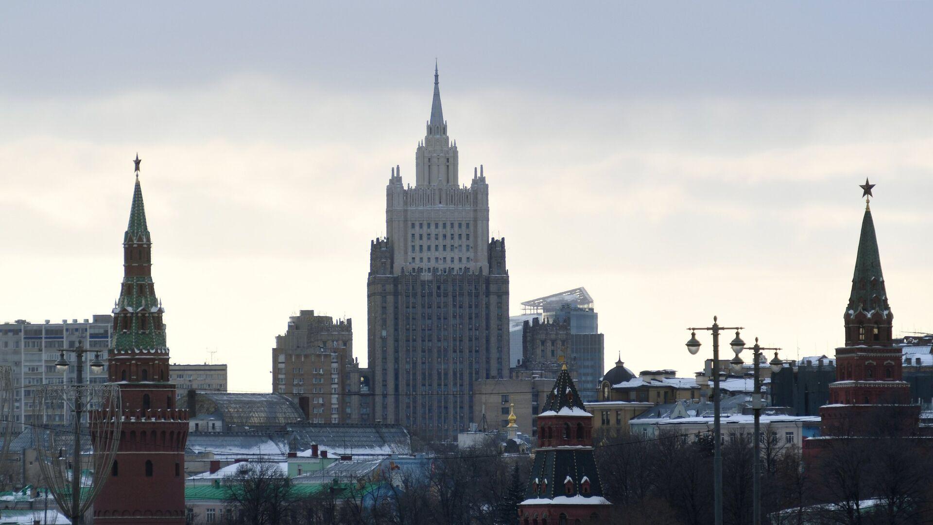 El edificio del Ministerio de Asuntos Exteriores de Rusia - Sputnik Mundo, 1920, 05.01.2021