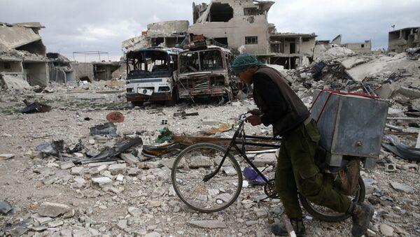 La situación en la ciudad de Duma, Siria - Sputnik Mundo