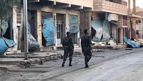 Situación en la provincia de Homs, Siria (archivo) - Sputnik Mundo