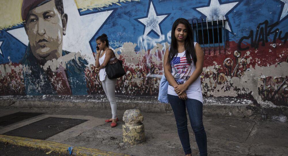 Las jóvenes venezolanas (imagen referencial)