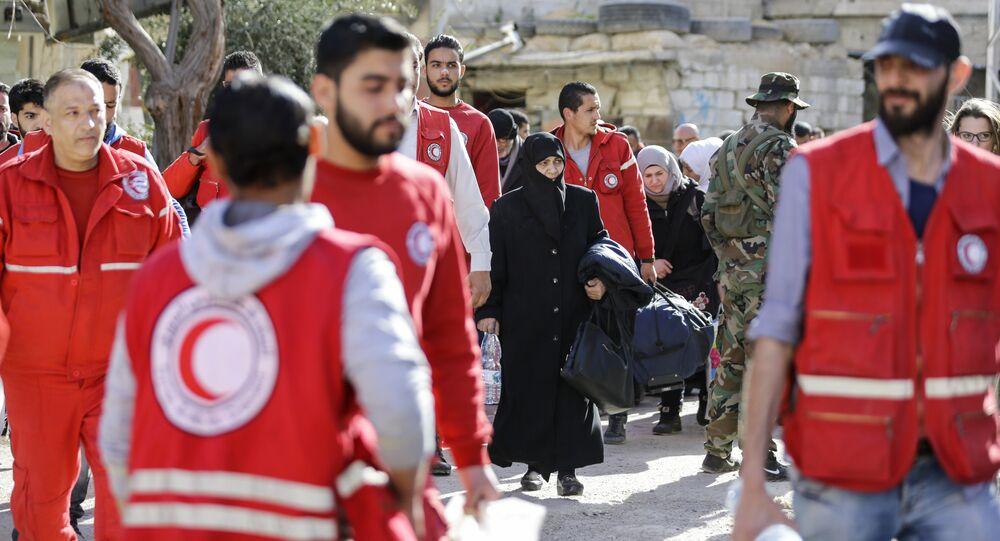 La Media Luna Roja de Siria