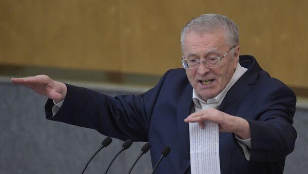 Vladímir Zhirinovski, líder del Partido Liberal Demócrata ruso - Sputnik Mundo