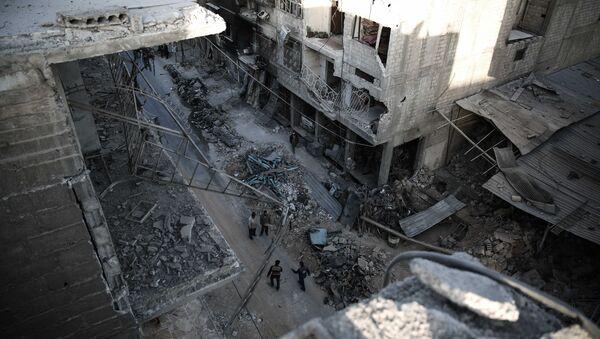 Situación en la ciudad siria de Duma - Sputnik Mundo