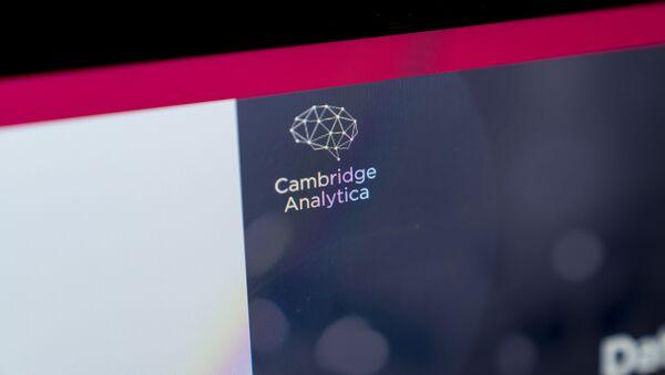 Cambridge Analytica - Sputnik Mundo