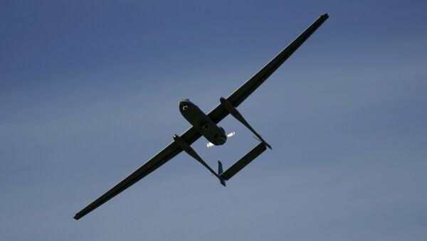 Un dron israelí Heron TP - Sputnik Mundo