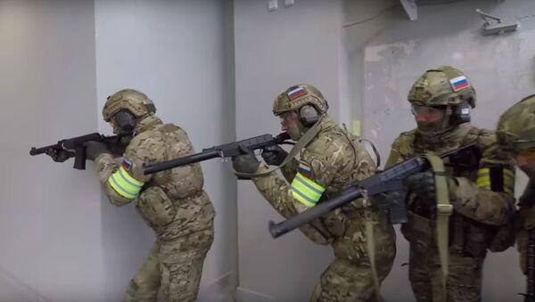 El Servicio de Seguridad de Rusia realizó un entrenamiento antiterrorista de unidades especiales en Kaliningrado - Sputnik Mundo
