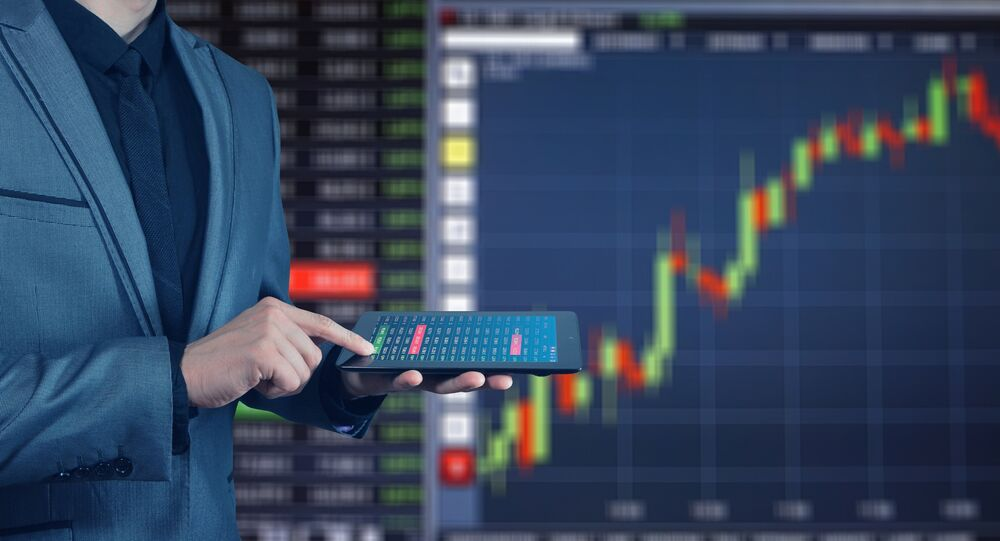 Un gráfico financiero (imagen referencial)